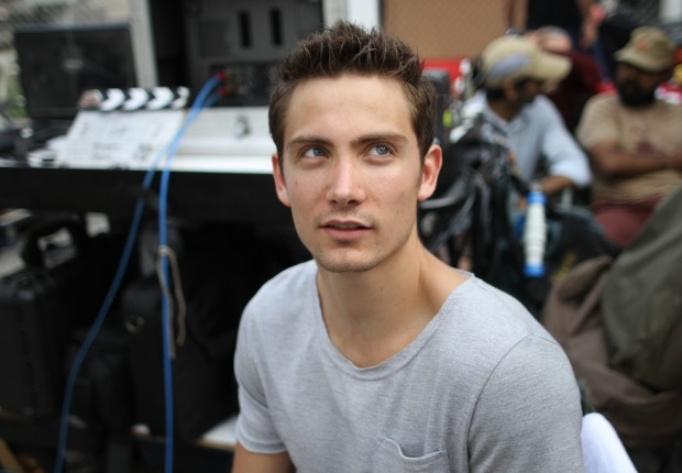 Chase Armitage on set in Malaysia