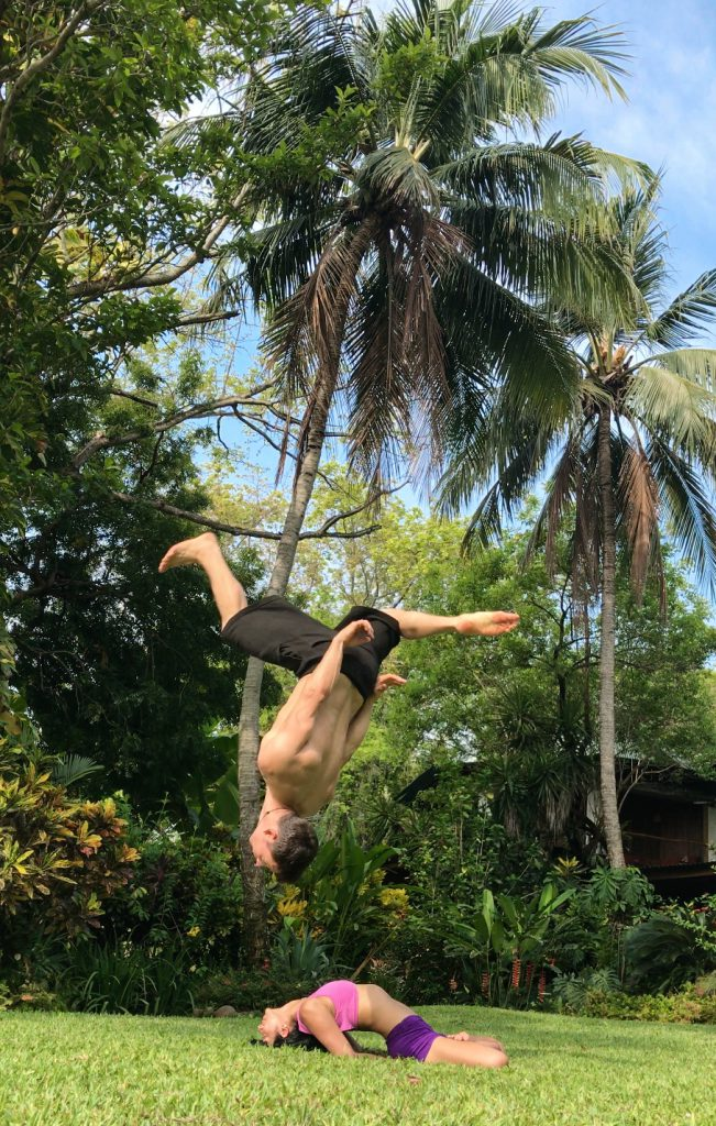 acro yoga training in costa rica